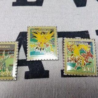 ポケモン 切手型バッチセットの画像