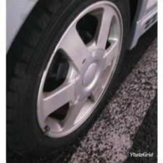 eKスポーツ純正アルミ+スタッドレスタイヤ
