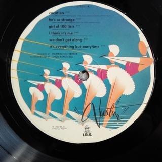 Go-Go's – Vacation ゴーゴーズ / バケーション 中古 LPレコード盤 米国製 - 相模原市