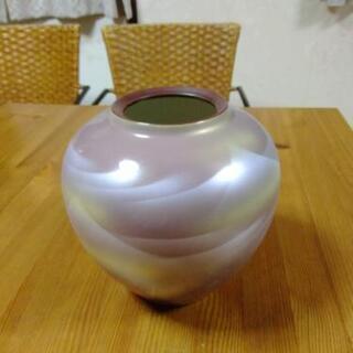 未使用 九谷焼 花瓶 壺