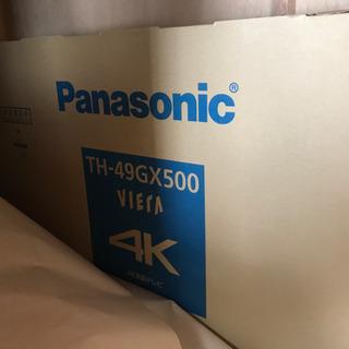 新品Panasonic ビエラ TH-49GX500