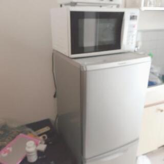 冷蔵庫 電子レンジ オーブントースター
