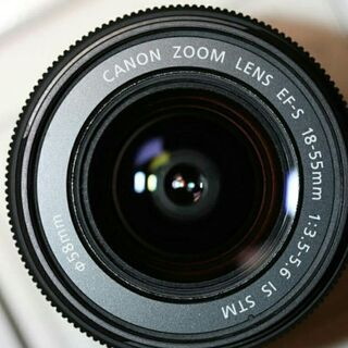 Canon ZOOM LENS EF-S 18-55mm &55...