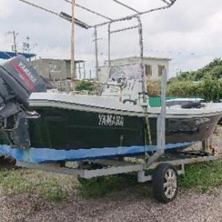 ヤマハ船外機ボート