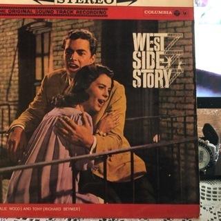 ウエスト・サイド物語オリジナルサウンドトラック LPレコード中古。