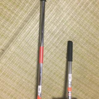 ステンレスパイプ柄手鍬 2個セット 未使用品