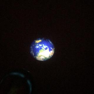 プラネタリウム 地球、土星
