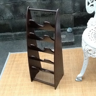 【値下げ200円だす】スリッパラック、スリッパ立て 木製 シンプ...