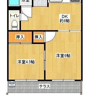 三郷駅まで徒歩5分 2DK 諸費用6万円以下