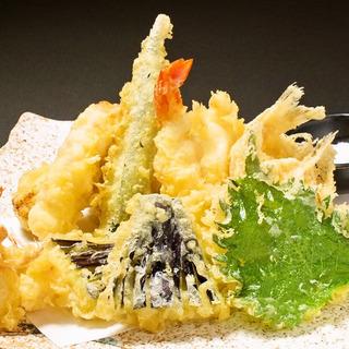 揚げたての天ぷら始めました!