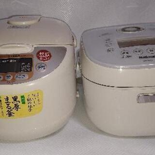 炊飯器  2台   ジャンク  下取り用