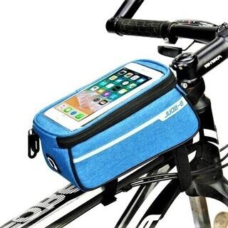 自転車スマホホルダー(青)