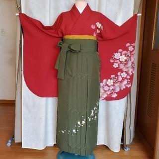 卒業式 袴セットE