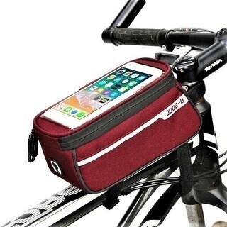自転車スマホホルダー(赤)