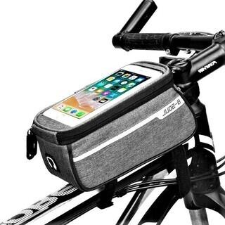 自転車スマホホルダー(グレー)