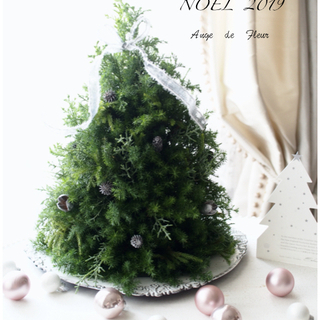 クリスマスワンデイレッスン 今年は手作りで!インテリアにグリーン...