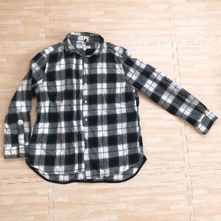 ニコアンド 長袖チェックシャツ Mサイズ