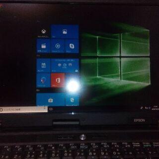 「決まりました」Windows10PC