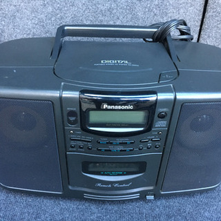 Panasonic CDラジカセ 高級品!