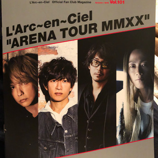 L'Arc〜en〜Ciel 最新 ファンクラブ 会報 Vol.101