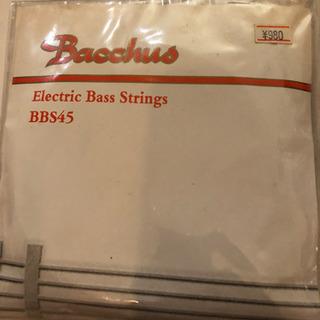 バッカス エレクトリックベースストリングスBBS45 弦
