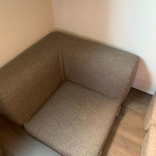 アジアカフェ風ロータイプコーナーフロアソファ - 家具