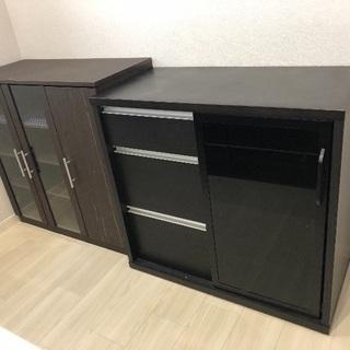 棚 食器棚、書類棚、テレビ台、等ご活用ください