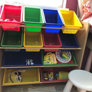 子供用 子供部屋 収納ラック 大きめ