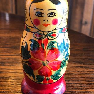 手描きマトリョーシカ人形 ロシア製 新品未使用
