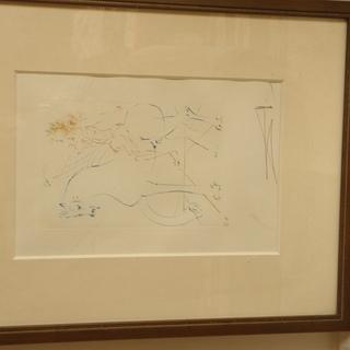 サルバドール・ダリ銅版画