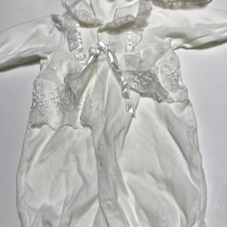 最終値下げ!ベビー白のセレモニードレス  日本製