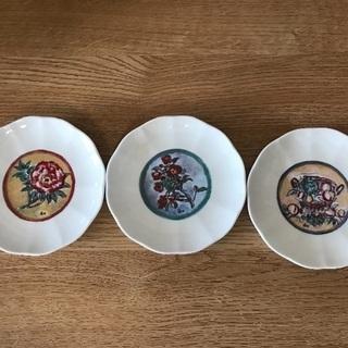 小林 和作 小皿3枚