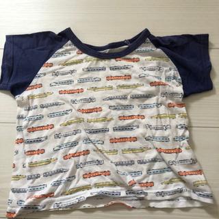 90 電車柄のTシャツ