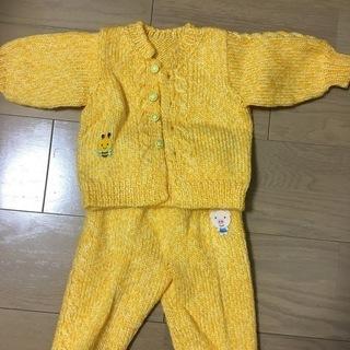 編みベビー服