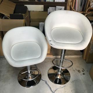 早いモノ勝ち‼️バーカウンターイス 2個セット 椅子 美品