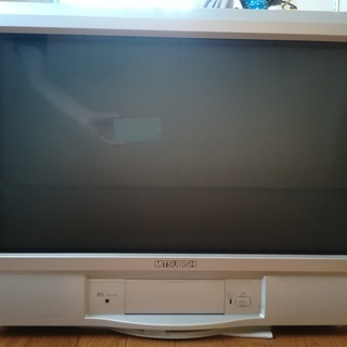28型アナログテレビ(外付け地デジチューナー付き)