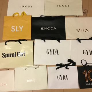 GYDA EMODA SLY など ショッパーまとめ売り
