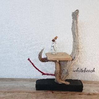 流木テーブルアート