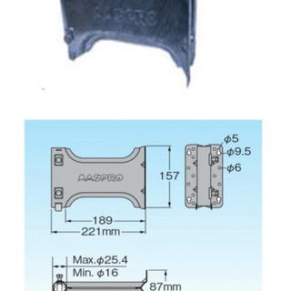 マスプロ 亜鉛メッキサイドベース SB25S