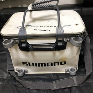 【週末値下げ】シマノ タックルバッグ ロッドホルダー4本付き