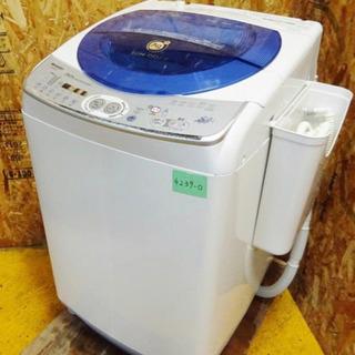 (4239-0)SHARP シャープ 全自動洗濯機 ES-D85...