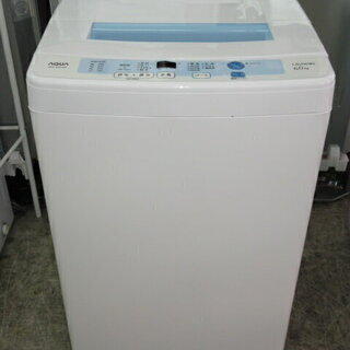 rk1353  ハイアールアクア 洗濯機 AQW-S60C(W...