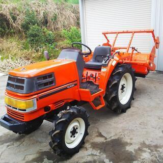 クボタ 21馬力ディーゼルエンジントラクターGT-3 日置市 伊集院町