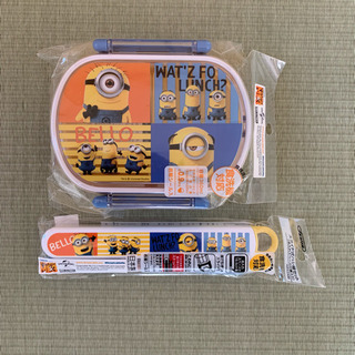 ミニオンズ☆ランチボックス&箸箱セット