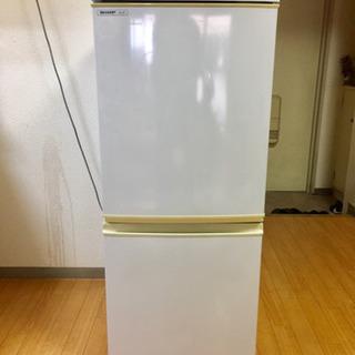 【引き取り限定11/3-9】シャープ冷凍冷蔵庫 SJ-14…