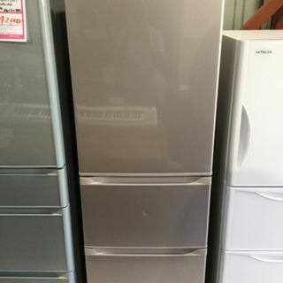 TOSHIBA 363L 3ドアノンフロン冷凍冷蔵庫 GR-H3...