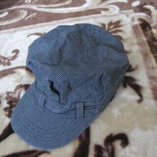 ★ ストライプ柄 帽子 サイズ約56cm ★