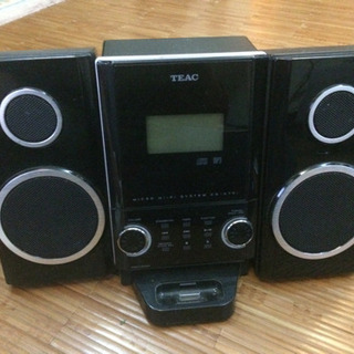 【SALE】TEAC CD-X70i ミニコンポ