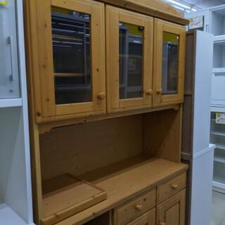 シギヤマ家具 2面食器棚 福岡 糸島 唐津 1031-07