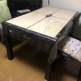 【美品】大理石ダイニングテーブル